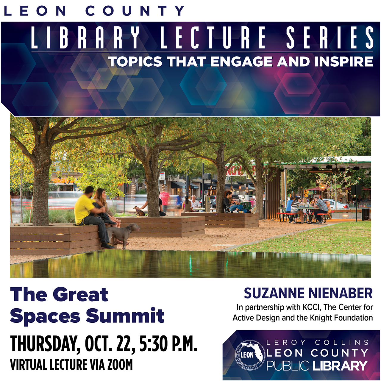 Library Lecture Poster