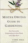Mister Owita's Guide toe Gardening book cover