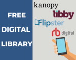 Digital library graphic