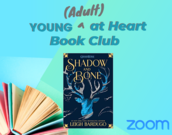 Young Adult at Heart Book Club graphic
