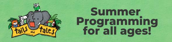 summer programming animal banner