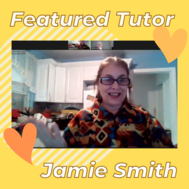 featured literacy tutor Jamie Smith photo