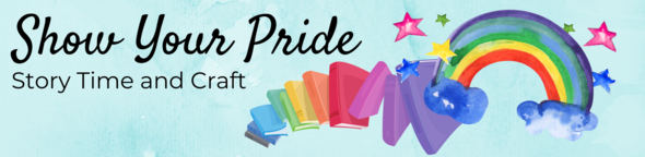 show your pride childrens event graphic