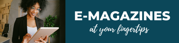 e-magazines at your fingertips