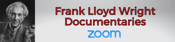 Frank Lloyd Wright documentaries graphic with frank lloyd wrights photo