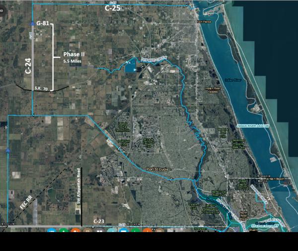 C-24 Dredging Map