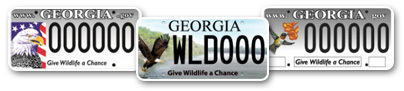 georgia conservation license plates link