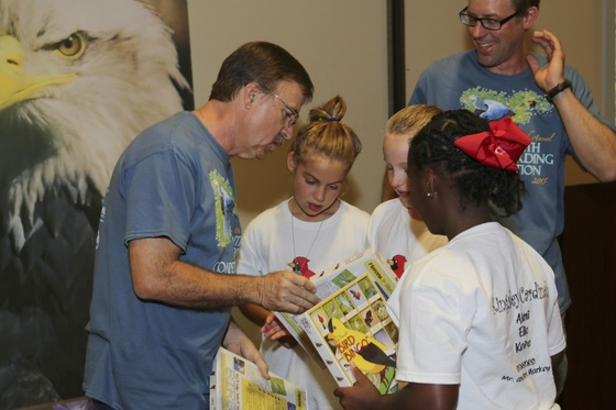 Youth Birding Competition awards ceremony
