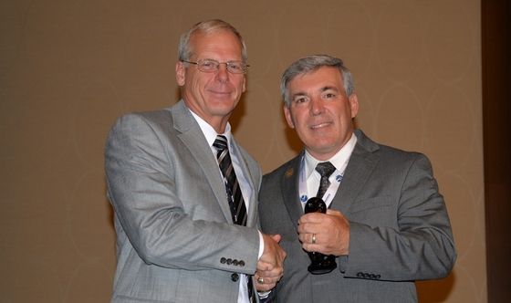 Dan Forster receives award
