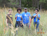 your state parks day volunteers panola