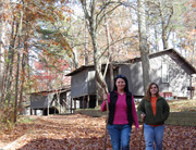 Cloudland Canyon cabin cottage