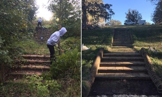 Altama WMA garden restoration