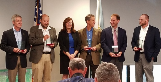DNR recipients of Regional Director's Honor Award for Conservation Partners