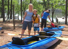 Paddlers at George L. Smith State Park