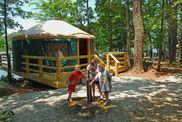 Fort Yargo yurt