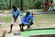 minigolf at Tugaloo State Park