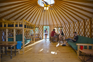 Tugaloo yurt