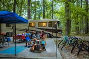 Camping at Skidaway Island