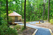 yurt at cloudland canyon