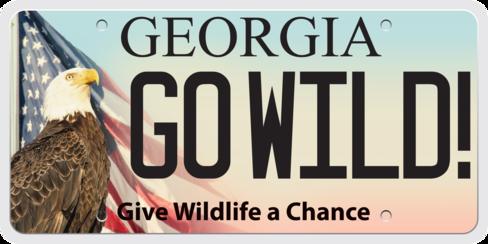 Eagle-flag go wild tag