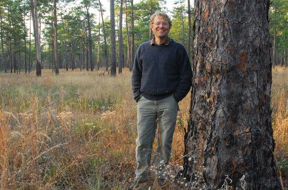 DNR senior wildlife biologist Nathan Klaus