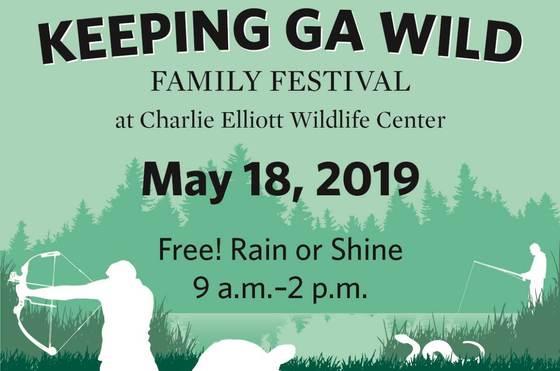 Keeping Georgia Wild festival flyer