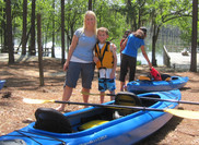 Kayaking for Mother's Day at George L. Smith