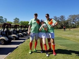 FootGolf players at Brazell's Creek