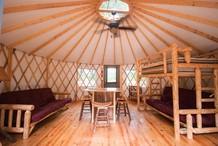 Yurt at Sweetwater Creek