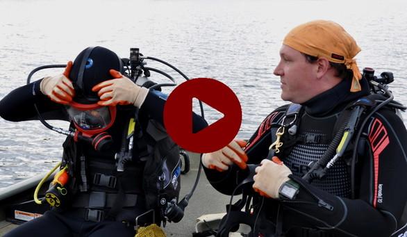Video: DNR mussel survey