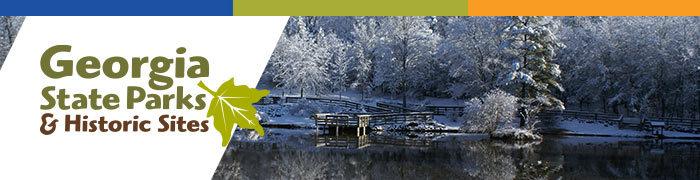 Victoria Bryant State Park in winter