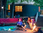 High Falls State Park yurt