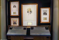 Little White House portrait exhibit