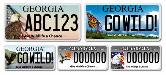 DNR nongame wildlife plates