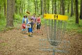 disc golf at Fort Yargo