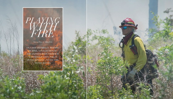Southwest Georgia Living article featuring DNR's Shan Cammack and southeast Georgia burn crew (Southwest Georgia Living)