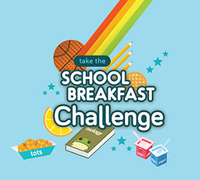 School Breakfast week logo