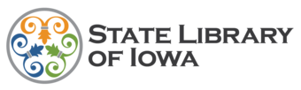 LIB State Library of Iowa Logo