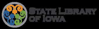 LIB State Library of Iowa Logo