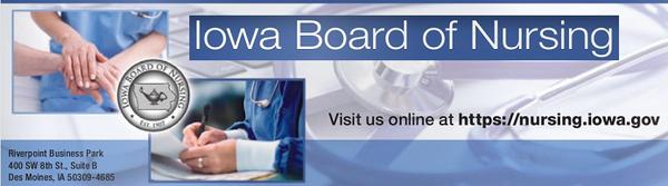 Board of Nursing header