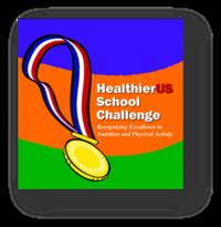 HealthierUS School Challenge award
