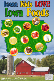 Iowa Grown Poster