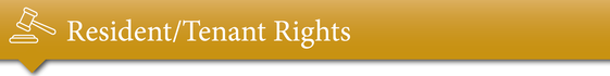 Resident/Tenant Rights