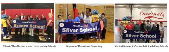 Iowa HUSSC Award Schools