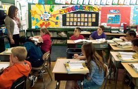 Elementary Reading classroom