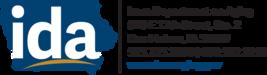 IDA logo with address