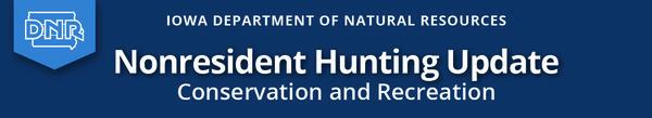 masthead for nonresident hunting news