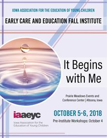 Early Care and Education Fall Institute conference poster