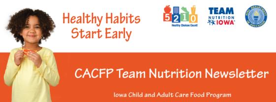 October Team Nutrition Newsletter