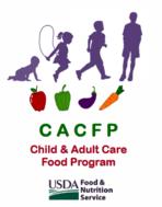 Healthier CACFP Award logo
